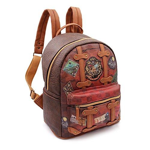 Karactermania Harry Potter Railway-Fashion Backpack Zaino Casual, 31 cm, 13 liters, Marrone (Brown) - 1