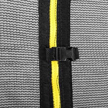 Klarfit Rocketboy 430 Tappeto Elastico Trampolino da Giardino (430 CM, Rete di Sicurezza, aste Imbottite, Scala, Telo Antipioggia) Rosa - 9