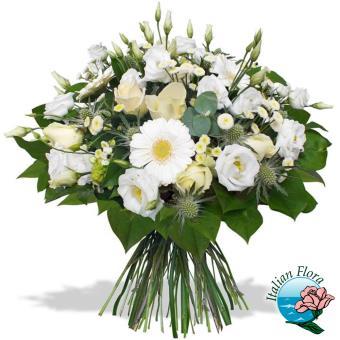 Mazzo di fiori per matrimonio - Consegna in Italia.