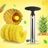 ningbao651 Stainless Steel Pineapple Peeler Cutter Slicer Corer Peel Remover Blades Fruit Vegetable Knife Gadget Kitchen Tools - 1