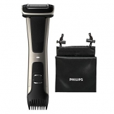Philips BG7025/15 Bodygroom 7000 Depilatore Corpo da Uomo, Wet&Dry, Pettini Regolabili 3-11 mm, Testina 4D, Autonomia fino a 80 min - 1