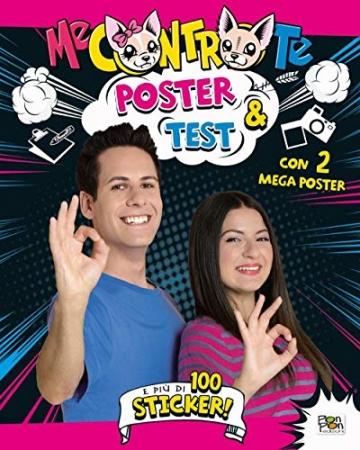 Poster & test. Con adesivi. Con 2 Poster - 1