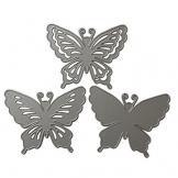 ranuw Matrici di taglio, matrici di Découpage di farfalla stencil Scrapbooking gaufrage album artigianato di carte di carta - 1