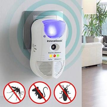 Repellente per parassiti con LED e sensor 5 IN 1 - 1
