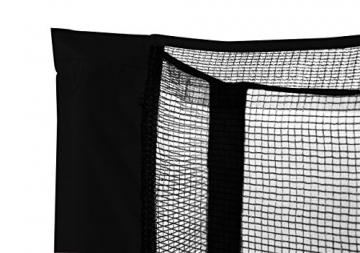SixBros. SixJump 1,40 M Ø Trampolino Elastico da Giardino Trampolino Nero - T140/1833 | con Rete di Sicurezza - 3
