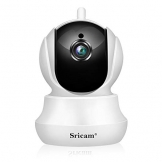 Sricam SP020 Telecamera di Sorveglianza Wireless 720P HD IP Camera Wifi Visione Notturna a Infrarossi, Audio Bidirezionale, Controllo Remoto e Email allarm, Compatibile con iOS /Android/Windows PC - 1