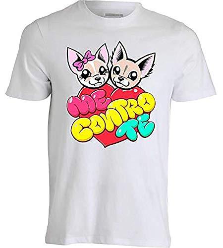 T-Shirt Maglietta -Me Contro Te- Replica Sofi e Lui Kira e Ray Cotone 100% (7-8 Anni) - 1