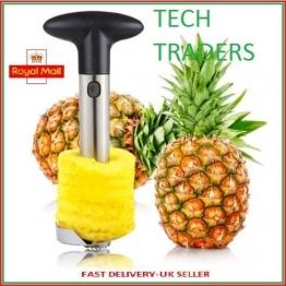 Tech Traders New affettatrice frutta ananas, acciaio INOX - 1