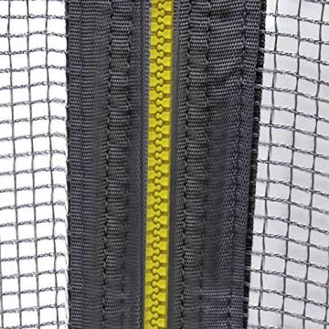 Ultrasport Rete di Sicurezza per Trampolino da Giardino Jumper Wave, Verde, 251 – 430 cm, 430 cm - 3