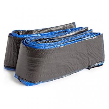 Ultrasport Rivestimento del bordo per trampolino da giardino, Blu, 305 cm - 4