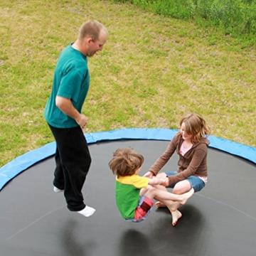 Ultrasport Rivestimento del bordo per trampolino da giardino, Blu, 305 cm - 7