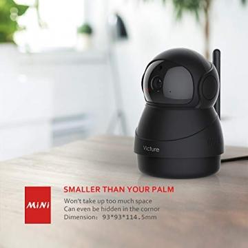 Victure FHD 1080P Telecamera di Sorveglianza WiFi,videocamera IP Interno Wireless con Visione Notturna, Audio Bidirezionale, Notifiche in tempo reale del sensore di movimento - 8