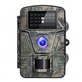 Victure Fotocamera de Caccia 12MP 1080P Fototrappola Infrarossi Invisibili Movimento Attivato 0.5s a Scatto Modalita' Notturna con 2.4 Pollici Schermo LCD Impermeabile IP66 Camera per la Caccia - 1