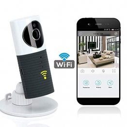 Videocamera di Sorveglianza Wifi Telecamera IP Cam Baby Monitor a infrarossi con Visione Notturna e Rilevatore Movimento Citofono a due vie Per iOS/Android - 1