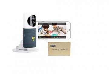 Videocamera di Sorveglianza Wifi Telecamera IP Cam Baby Monitor a infrarossi con Visione Notturna e Rilevatore Movimento Citofono a due vie Per iOS/Android - 9