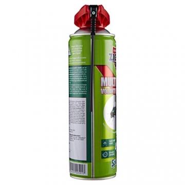 Zig Zag, Spaziotempo, Insetticida Multinsetto Spray per insetti striscianti e volanti, agisce istantaneamente, formato 500 ml - 4