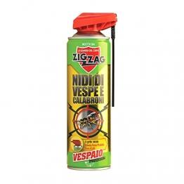 Zig Zag, Vespaio Precision, Insetticida Vespe spray ad azione immediata, con valvola a doppia erogazione, formato 400 ml - 1