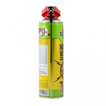 Zig Zag, Vespaio Precision, Insetticida Vespe spray ad azione immediata, con valvola a doppia erogazione, formato 400 ml - 6