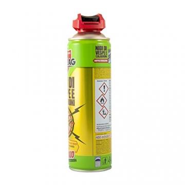 Zig Zag, Vespaio Precision, Insetticida Vespe spray ad azione immediata, con valvola a doppia erogazione, formato 400 ml - 7