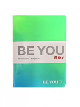 BE YOU. Diario Agenda Scuola Color Easy Verde Datato 2019/2020 12 Mesi Mini 16x12 cm + Penna Colorata Omaggio - 1