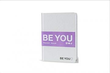 BE YOU. Diario Agenda Scuola Mini Bianco Datato 2019/2020 12 Mesi 12x16 cm + Penna Colorata Omaggio - 1