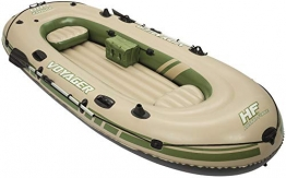 Bestway 65001 Hydro Force Voyager 500, Gommone Set, Multicolore, 348 x 141 x 51 cm - 1