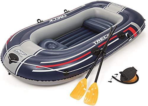 Bestway- Hydro-Force raft Set gommone, Colore Blu, 255x127x41 cm, 61068 - 1