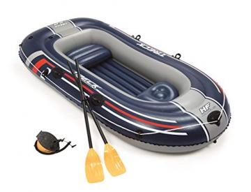 Bestway- Hydro-Force raft Set gommone, Colore Blu, 255x127x41 cm, 61068 - 10