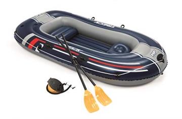 Bestway- Hydro-Force raft Set gommone, Colore Blu, 255x127x41 cm, 61068 - 11