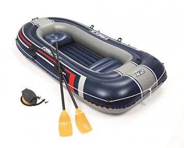 Bestway- Hydro-Force raft Set gommone, Colore Blu, 255x127x41 cm, 61068 - 12