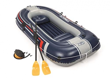 Bestway- Hydro-Force raft Set gommone, Colore Blu, 255x127x41 cm, 61068 - 13
