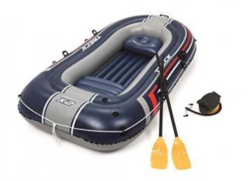Bestway- Hydro-Force raft Set gommone, Colore Blu, 255x127x41 cm, 61068 - 14