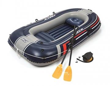 Bestway- Hydro-Force raft Set gommone, Colore Blu, 255x127x41 cm, 61068 - 15