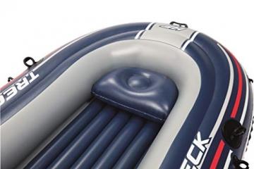 Bestway- Hydro-Force raft Set gommone, Colore Blu, 255x127x41 cm, 61068 - 19