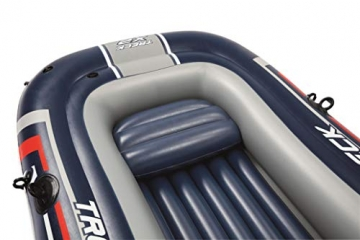 Bestway- Hydro-Force raft Set gommone, Colore Blu, 255x127x41 cm, 61068 - 25