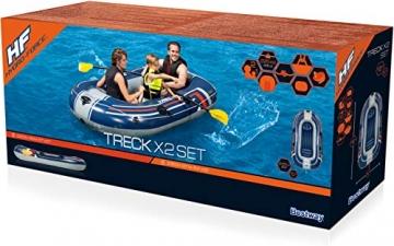 Bestway- Hydro-Force raft Set gommone, Colore Blu, 255x127x41 cm, 61068 - 4