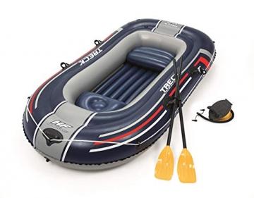 Bestway- Hydro-Force raft Set gommone, Colore Blu, 255x127x41 cm, 61068 - 8