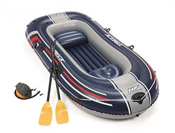 Bestway- Hydro-Force raft Set gommone, Colore Blu, 255x127x41 cm, 61068 - 9