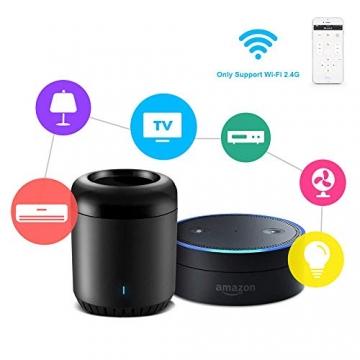 BroadLink Mini 3 - Telecomando universale SmartHome a infrarossi con Wi-Fi per iPhone/Android Phone, compatibile con Alexa, Google Home e IFTTT - 2