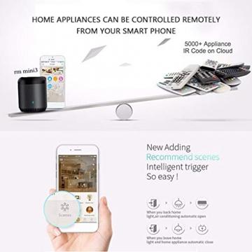 BroadLink Mini 3 - Telecomando universale SmartHome a infrarossi con Wi-Fi per iPhone/Android Phone, compatibile con Alexa, Google Home e IFTTT - 15