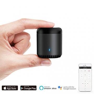 BroadLink Mini 3 - Telecomando universale SmartHome a infrarossi con Wi-Fi per iPhone/Android Phone, compatibile con Alexa, Google Home e IFTTT - 3