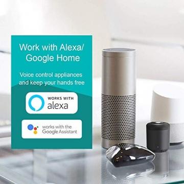 BroadLink Mini 3 - Telecomando universale SmartHome a infrarossi con Wi-Fi per iPhone/Android Phone, compatibile con Alexa, Google Home e IFTTT - 6