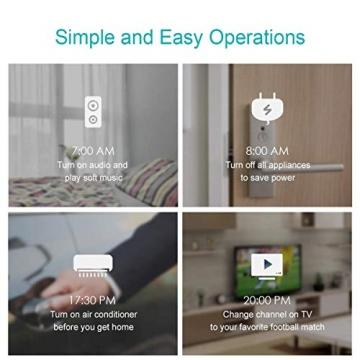 BroadLink Mini 3 - Telecomando universale SmartHome a infrarossi con Wi-Fi per iPhone/Android Phone, compatibile con Alexa, Google Home e IFTTT - 7