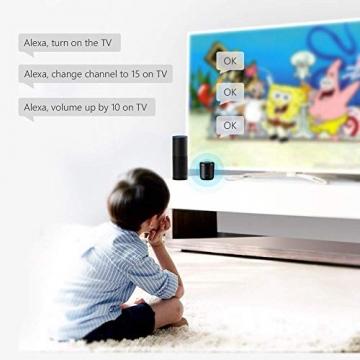 BroadLink Mini 3 - Telecomando universale SmartHome a infrarossi con Wi-Fi per iPhone/Android Phone, compatibile con Alexa, Google Home e IFTTT - 9