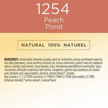 Burt Bees Burt api 100% naturali all Aglow lip & Cheek stick, pesca stagno-1Tube-8.5g, pesca stagno - 6