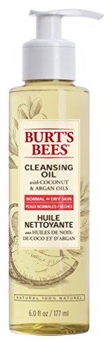 Burt Bees, detergente viso con olio di cocco e olio di argan, 177ml - 1