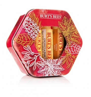 Burt Bees Trio Tin Gift set - 5