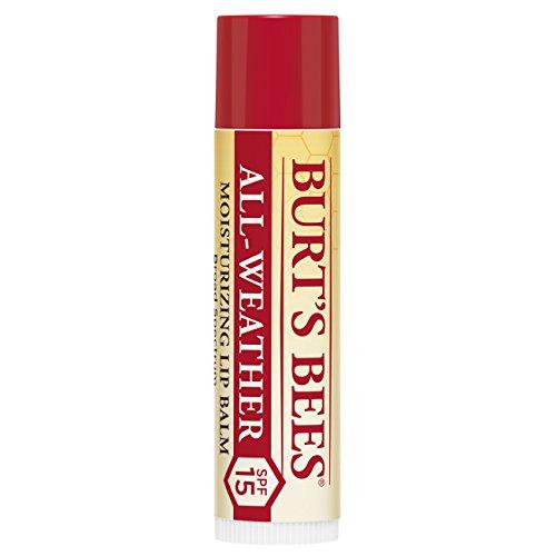 burt' S Bees 100% natural all-weather SPF15idratante balsamo per le labbra, 4.25g - 1