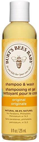 Burt's Bees, Bagnoschiuma e shampoo per bambini Baby Bee, 235 ml - 1