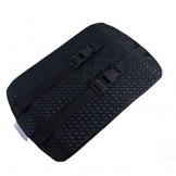 Cuscino traspirante antibatterico durevole lavabile auto cuscini adatto per tutti i tipi di sedili comuni,Black,A - 1